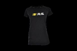 T-shirt RENAULT SPORT noir pour femme